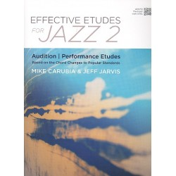 Carubia, Mike: Effective Etudes for Jazz vol.2 : for trumpet