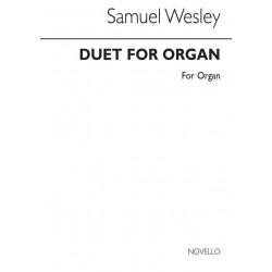 Wesley, Samuel *1766: Duet : for organ