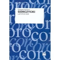 Gorczycki, G. G.: Laetatus sum Musique polonaise ancienne vol. 37