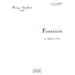 Gaubert, Philippe: Fantaisie : pour clarinette et piano