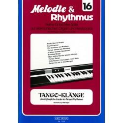 Tangoklänge : für E-Orgel / Keyboard