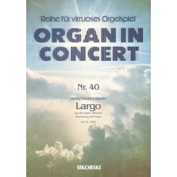Händel, Georg Friedrich: Largo aus Xerxes : für Orgel