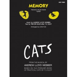 Lloyd Webber, Andrew: Memory : the Theme from Cats easy piano version Einzelausgabe (en)