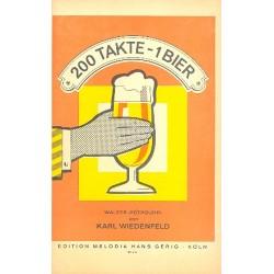 Wiedenfeld, Karl: 200 Takte - Ein Bier: für Salonorchester