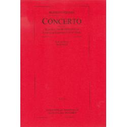 Regner, Hermann: Concerto : für Klavier und Blasorchester Studienpartitur