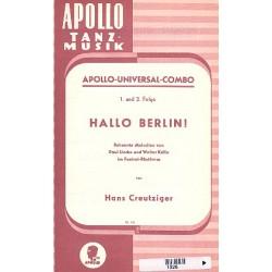 Hallo Berlin : Bekannte Melodien von Paul Linke und Walter Kollo im Foxtrott-Rhythmus f├╝r Combo