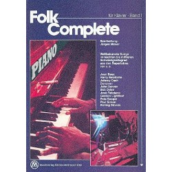 Folk Complete Band 1 : für Klavier