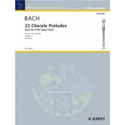 Bach, Johann Sebastian: Chorale Preludes from the little Organ Book vol.6