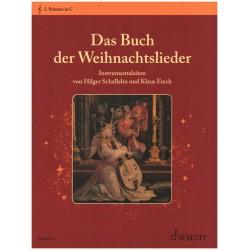 Das Buch der Weihnachtslieder : 3. Stimme in C Violinschl├╝ssel