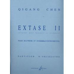 Chen, Qigang: Extase II : pour hautbois et ensemble partition