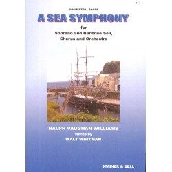 Vaughan Williams, Ralph: Symphony no.1 (A Sea Symphony) : for soloists, mixed chorus and orchestra study score
