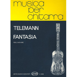 Telemann, Georg Philipp: Fantasia : per 2 chitarre