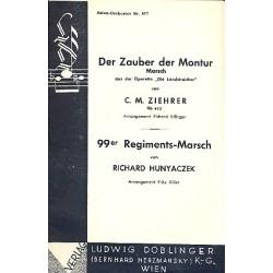 Ziehrer, Carl Michael: Der Zauber der Montur op.493 : Marsch aus Die Landstreicher für Salonorchester