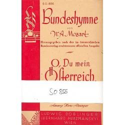 Mozart, Wolfgang Amadeus: OESTERREICHISCHE BUNDESHYMNE : FUER SALONORCHESTER