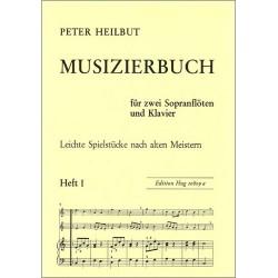 Musizierbuch Band 1 : für 2 Sopranblockflöten und Klavier