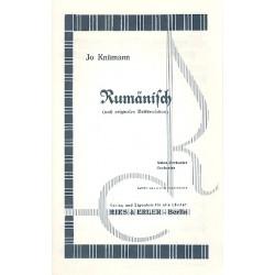 Knümann, Josef: Rumänisch : für Salonorchester