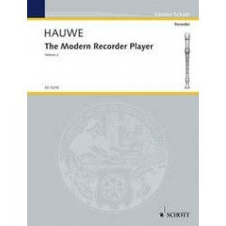 Hauwe, Walter van: The modern recorder player vol.2