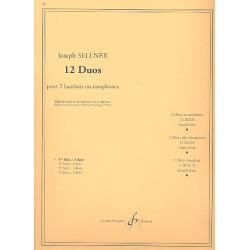 Sellner, Joseph: 12 Duos vol.1 (nos.1-3) : pour 2 hautbois ou saxophones