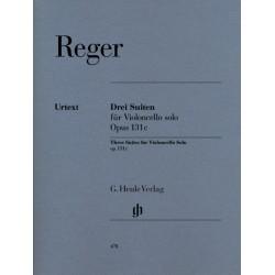 Reger, Max: 3 Suiten op.131c : f├╝r Violoncello solo