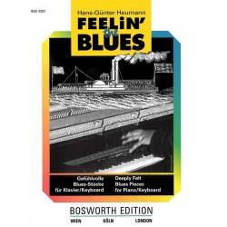 Heumann, Hans-Günter: Feelin' the Blues: für Klavier / Keyboard Gefühlvolle Blues-Stücke