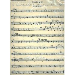 Mozart, Wolfgang Amadeus: 2 Sonaten C-Dur KV278 und KV329 für Orgel und Orchester Harmonie