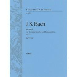 Bach, Johann Sebastian: Konzert d-Moll BWV1052 : für Cembalo und Streichorchester Partitur