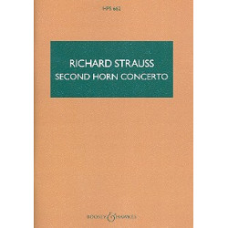 Strauss, Richard: Concerto e flat major no.2 : for horn and orchestra study score