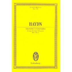 Haydn, Franz Joseph: Konzert Es-Dur HOB.VIIIE:1 : für Trompete und Orchester Studienpartitur