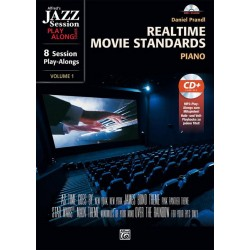 Realtime Movie Standards (+mp3-CD) : for piano