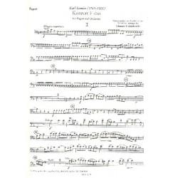 Stamitz, Karl: Konzert F-Dur : für Fagott und Orchester Fagott solo