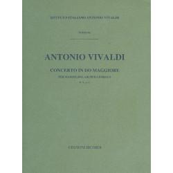 Vivaldi, Antonio: Concerto do maggiore RV 425/p 134/f : per mandolino e orchestra d'archi v:1 partitura