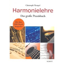 Hempel, Christoph: Harmonielehre - Das große Praxisbuch