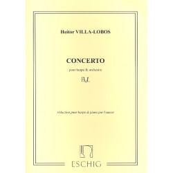 Villa-Lobos, Heitor: Concerto : pour harpe et orchestre harpe et piano