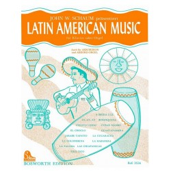 Latin American Music : f├╝r Klavier (Orgel, Akkordeon, E-Orgel)