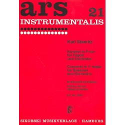 Stamitz, Karl: Konzert F-Dur : für Fagott und Orchester Partitur