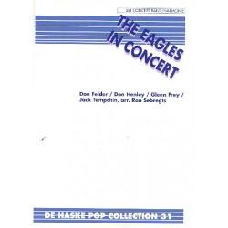 The Eagles in Concert : für Blasorchester Partitur und Stimmen