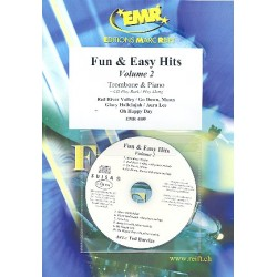 Fun and easy Hits vol.2 (+CD) : for trombone and piano