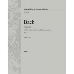 Bach, Johann Sebastian: Konzert A-Dur BWV1055 : f├╝r Klavier und Orchester Viola