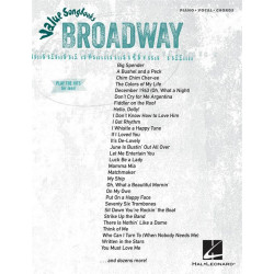Value Songbooks - Broadway : songbook piano/vocal/guitar