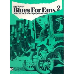 Blues for Fans Band 2 : f├╝r Klavier