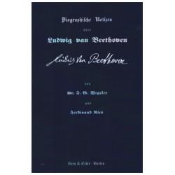 Wegele, Peter: Biographische Notizen über Ludwig van Beethoven