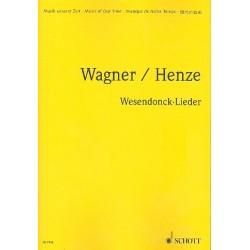 Wagner, Richard: 5 Gedichte : f├╝r eine Frauenstimme und Orchester Studien- und Dirigierpartitur