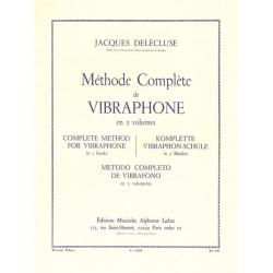 Delécluse, Jacques: Méthode complète de vibraphone vol.2