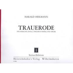 Heilmann, Harald: Trauerode : für Posaune (Viola, Englischhorn) und Orgel