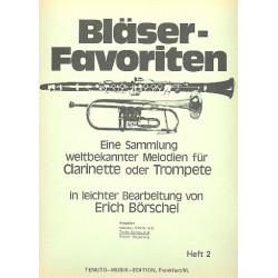 Bläser-Favoriten Band 2 : 2. Stimme in B