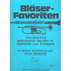 Bläser-Favoriten Band 3 : Klavierbegleitung