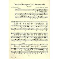 Marbot, Rolf: Zwischen Heringsdorf und Swinemünde: für Gesang und Klavier