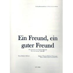 Heymann, Werner Richard: Ein Freund, ein guter Freund : für Gesang und Klavier