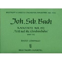 Bach, Johann Sebastian: Tritt auf die Glaubensbahn : Kantate Nr.152 BWV152 Orgel
