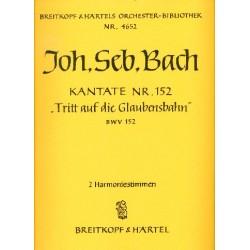 Bach, Johann Sebastian: Tritt auf die Glaubensbahn : Kantate Nr.152 BWV152 Harmonie
